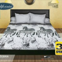 sprei my love calivornia zebra/seprei my love/seprai bed cover