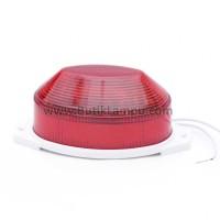 Lampu Blitz Strobo LED Oval Merah