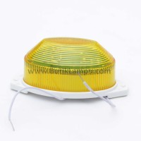 Lampu Blitz Strobo LED Oval Kuning