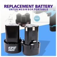 Baterai Murah / Battery Mesin Bor Portable / Baterai Cadangan Bor