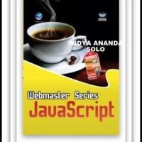 harga Webmaster Series Javascript Tokopedia.com