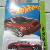 HOT WHEELS BENTLEY CONTINENTAL SUPERSPORTS.