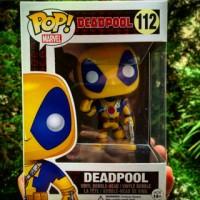 Jual Funko Pop Yellow Deadpool (Exclusive) Murah