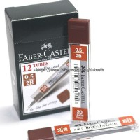 ISI PENSIL MEKANIK 0.5 2B FABER CASTELL / PENCIL LEAD