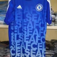 Jersey Baju Bola Chelsea Prematch Official 2015/2016 Grade Ori