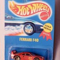 Hot Wheels Ferrari F40 Red/ Merah (Rare)