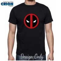 Jual Kaos Deadpool - Deadpool Logo - By Crion Murah