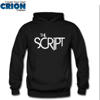 Jaket Sweater Hoodie The Script - The Script Logo - By Crion