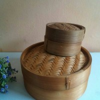 Klakat Dimsum 13cm, Dimsum Set, Kukusan Dimsum Bambu, Langseng