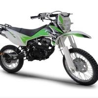 Sepeda Motor Viar Cross X 150-Trail (Merah & Hijau) (Jadetabek)