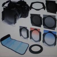 Filter Holder Square + 5 Filter + Ring + Tas Cokin Set 52
