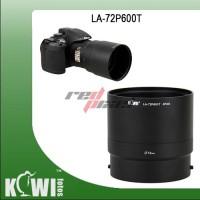 KIWIFOTOS LA-72P600T ~ LENS ADAPTER FOR NIKON P600 / P610