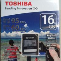 Toshiba SD Card Exceria U3 (R95MB / S & W60MB / S) 16GB
