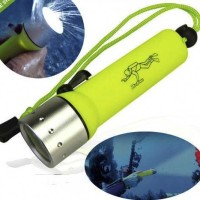 senter selam / anti air nyelam light diving flashlight cree 3w led