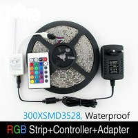 LED STRIP SMD 3528 RGB + REMOTE + MODUL + ADAPTOR