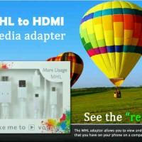 Converter Micro USB MHL To HDMI
