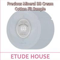 etude house precious mineral BB cream cotton fit sample