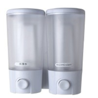 Crystal Soap Dispenser double 9117-2