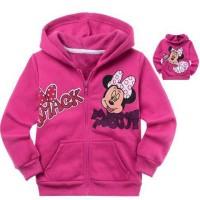 Jual jaket / blazer anak perempuan cewek  gambar minnie mouse disney Murah