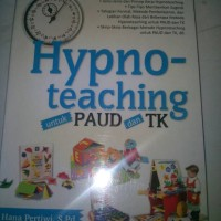 buku hypno teaching untuk paud/TK