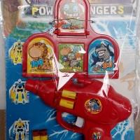 Tembakan Pistol Power Ranger Playset Target