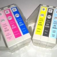 Cartridge / tinta epson 85 / 85N set ori loosepack untuk 1390 / T60