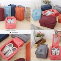 Monopoly shoes pouch travel / tas sendal sepatu / shoes bag organizer