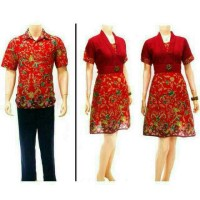 Batik Sarimbit Couple Dress 34