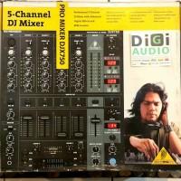 Behringer Pro Mixer DJX750 4 channel DJ Mixer Audio / Disc Jockey
