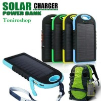 Jual Power Bank solar tenaga surya 99.000 mah waterproof outdoor camping Murah