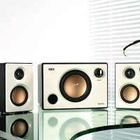 Swan M10 (White) - 2.1 Multimedia Speaker