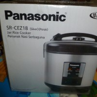 Jar Rice Cooker Panasonic SR-CEZ18 Perak/Silver