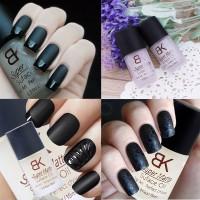 harga Bk Matte Top Coat Nail Polish Kutek Manicure Pedicure Efek Kuku Doff Tokopedia.com