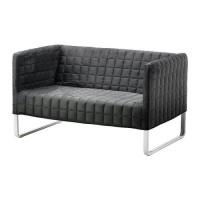 IKEA KNOPPARP Sofa 2 Dudukan - Abu-abu