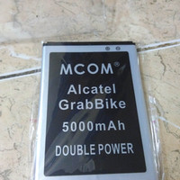 baterai Alcatel one touch 7040D hp grabBike dobel power mcom 5000 mah