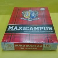 Buku Tulis AA Maxy Campus 36 Lembar { 1Pak = 10 Buku }