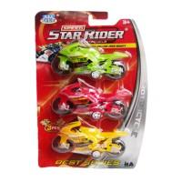 Motorcycle Star Rider Set 3 pcs / Motor Sport murah isi 3 buah