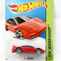 Hotwheels '90 Acura NSX merah