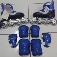Sepatu roda + dekker inline skate superb size S M L harga grosir manta