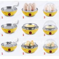 Mini Egg Boiler Cooker (Pengukus Telur + buat Telur Goreng