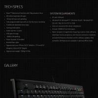Keyboard - Razer - BlackWidow 2014-Expert Mechanical Gaming Keyboard