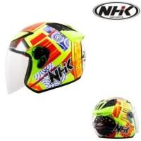 Helm NHK R6 Rossi Half Face Rosi