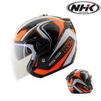 harga Helm Nhk Gladiator K2 Half Face Double Visor Tokopedia.com