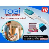 Tobi Steam Brush & Iron Garment Streamer / Setrika Uap - White