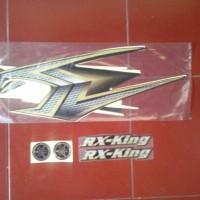 stiker motor / striping motor rx king SE 2004