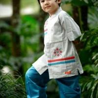 Baju Koko Anak Umur 5 / 6 Tahun Nibras NSA 19 L4
