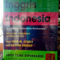 kamus ingris indonesia by jhon ecohls hasan shadly