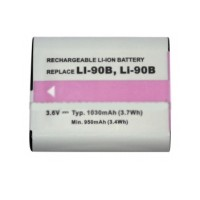 Baterai Olympus LI-90B Li90B SH-50 IHS Stylus XZ-2 Tough TG-1 TG-2