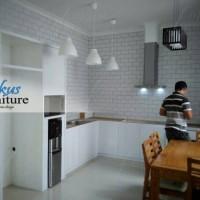 Jual Kitchen set Minimalis / lemari dapur hpl Murah