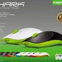 Mouse Kabel Wired USB PowerLogic Air Shark